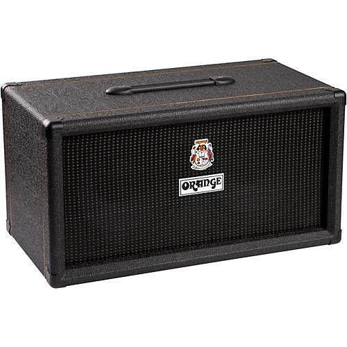 Orange Amplifiers OBC210 400W 2x10 Mini Bass Speaker Cabinet Black