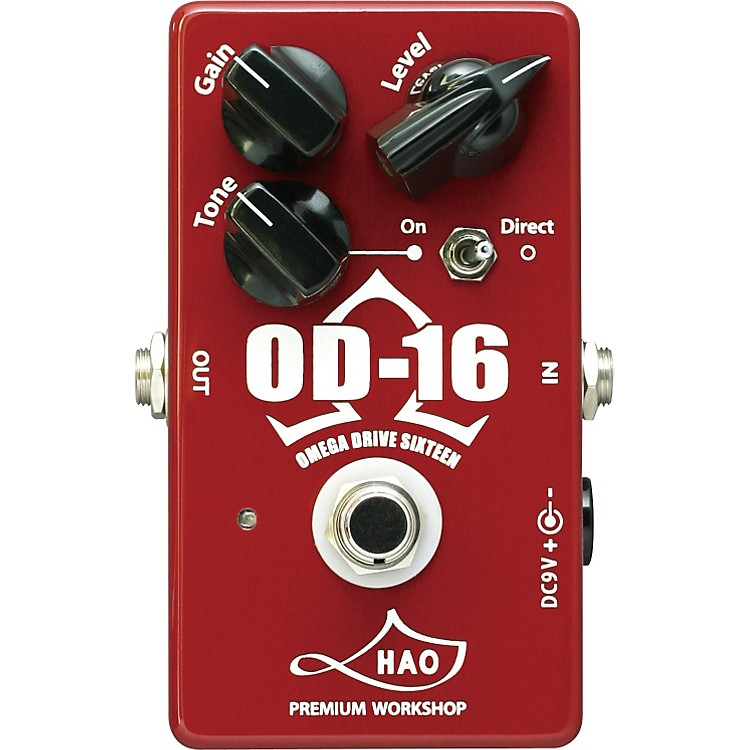 HaoOD-16 Omega Drive Sixteen Overdrive Guitar Effects Pedal