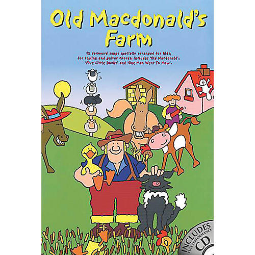 Music Sales OLD MACDONALD'S FARM (W/CD) Music Sales America Series-thumbnail