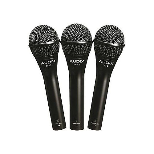 Audix OM-2 Dynamic Microphone 3-Pack