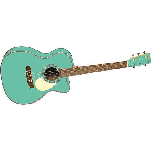 Martin OMCE Seafoam Green 000 Cutaway Acoustic Guitar