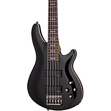 Schecter Guitar Research OMEN-5 Electric Bass Guitar Black