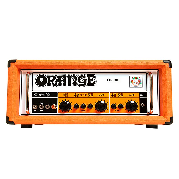Orange Amplifiers OR100 100W Dual Channel Tube Guitar Head