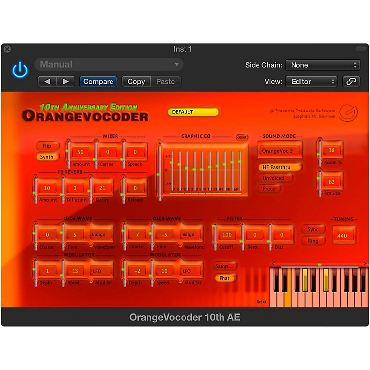 Zynaptiq ORANGE VOCODER Software Download