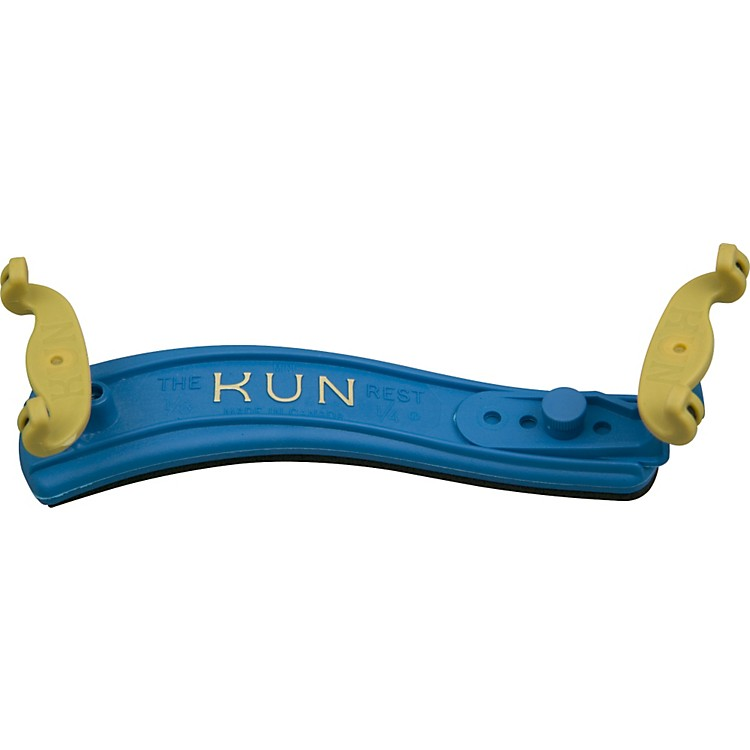 Kun ORIGINAL Mini Violin Shoulder Rest Mini Blue 1/8-1/4 Size