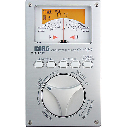 Korg OT-120 Chromatic Orchestral Tuner-thumbnail