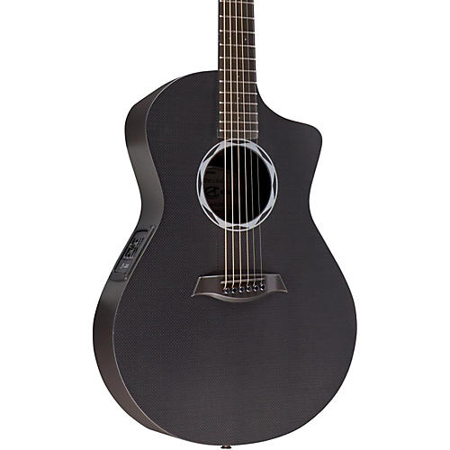 Composite Acoustics OX ELE Carbon Fiber Acoustic Guitar Metallic Charcoal