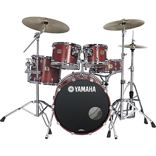 Yamaha Oak Custom Fusion Matte 5-Piece Drum Kit-thumbnail