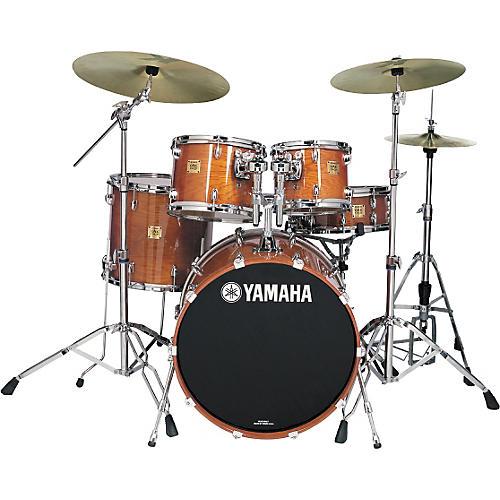 Yamaha Oak Custom Standard Gloss 5 Piece Drum Kit-thumbnail
