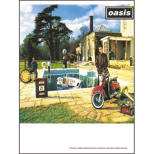 Hal Leonard Oasis - Be Here Now Piano/Vocal/Guitar Artist Songbook