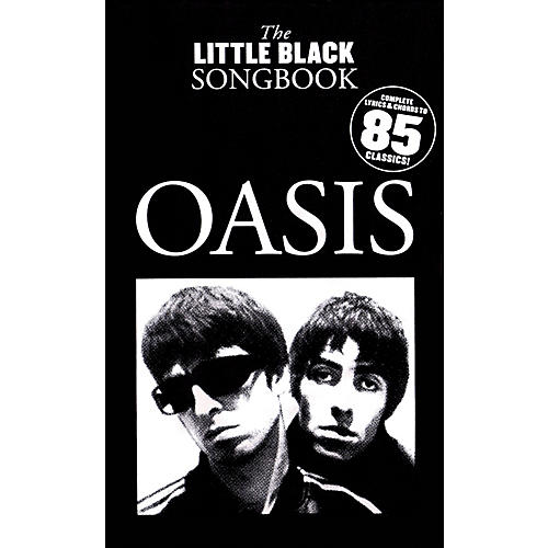 Music Sales Oasis - The Little Black Songbook (Chords/Lyrics) The Little Black Songbook Series Softcover by Oasis-thumbnail