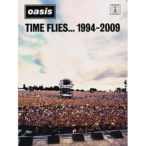 Hal Leonard Oasis - Time Flies... 1994-2009 Guitar Recorded Version Series Softcover Performed by Oasis-thumbnail