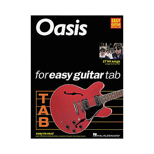 Hal Leonard Oasis for Easy Guitar Tab 1 Book