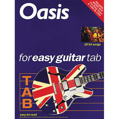 Hal Leonard Oasis for Easy Guitar Tab 2 Book