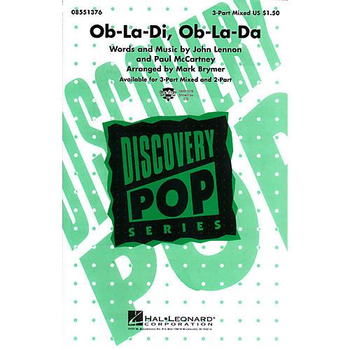 Hal Leonard Ob-La-Di, Ob-La-Da 3-Part Mixed arranged by Mark Brymer-thumbnail