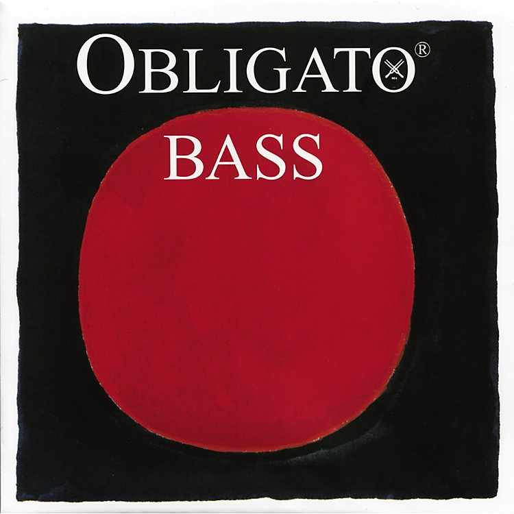 Pirastro Obligato Series Double Bass String Set 3/4 Size Medium
