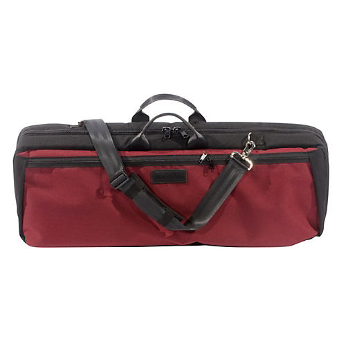 Mooradian Oblong Viola Case Slip-On Cover Burgundy with Backpack Straps