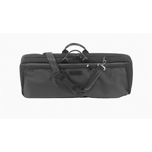 Mooradian Oblong Violin Case Slip-On Cover Black with Backpack Straps