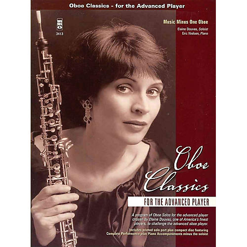 Music Minus One Oboe Classics for the Advanced Player Music Minus One Series BK/CD by Various-thumbnail