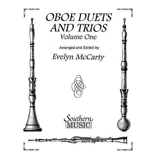 Southern Oboe Duets and Trios, Volume 1 (Oboe Duet) Southern Music Series Arranged by Evelyn McCarty-thumbnail