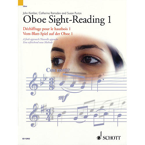 Schott Oboe Sight-Reading 1 Misc Series Edited by John Kember-thumbnail