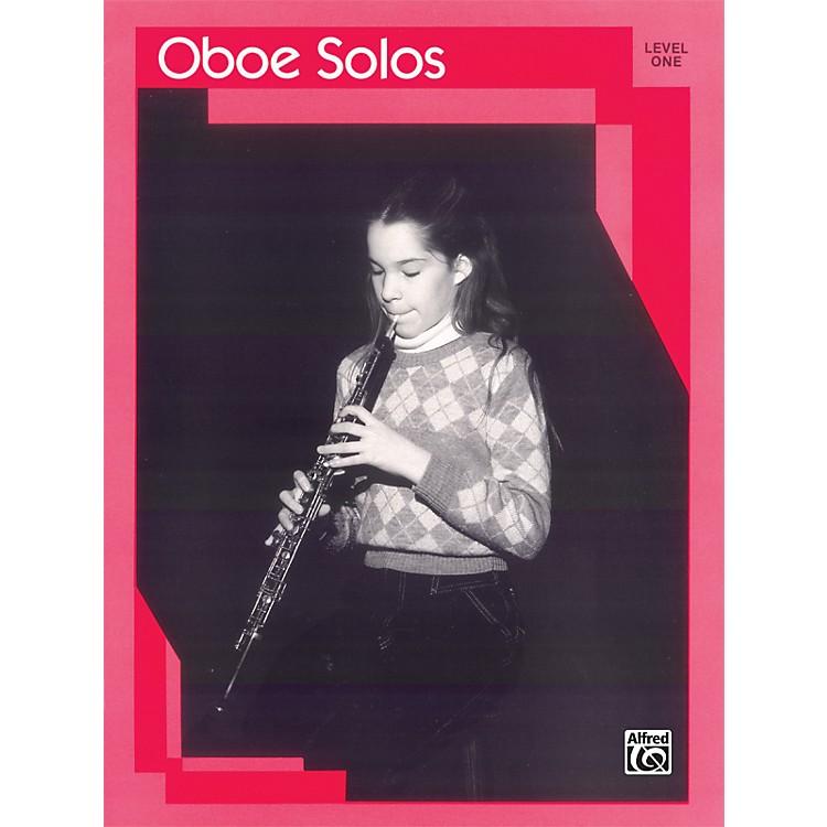 AlfredOboe Solos Level I Solo Book