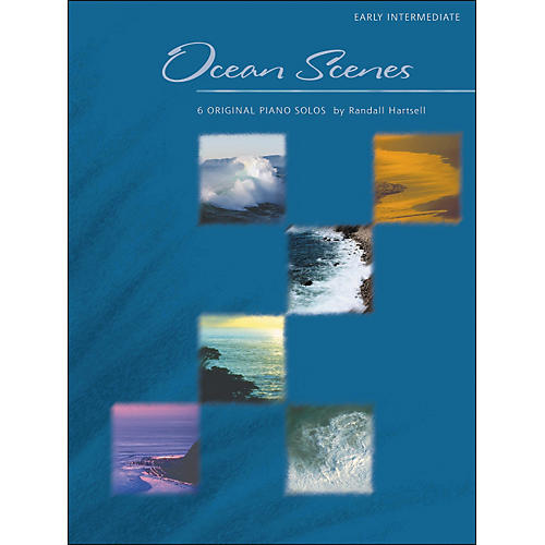 Willis Music Ocean Scenes - 6 Original Piano Solos by Randall Hartsell