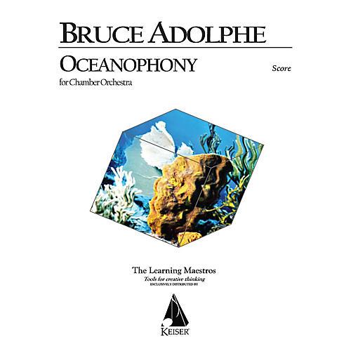 Lauren Keiser Music Publishing Oceanophony for Chamber Orchestra LKM Music Series by Bruce Adolphe-thumbnail