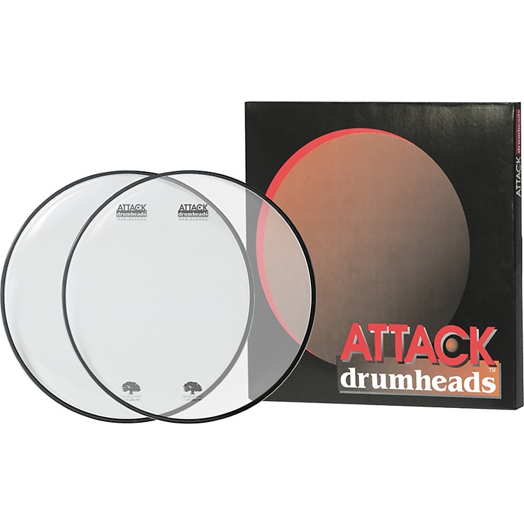 AttackOcheltree Drumhead PackClear/Clear16