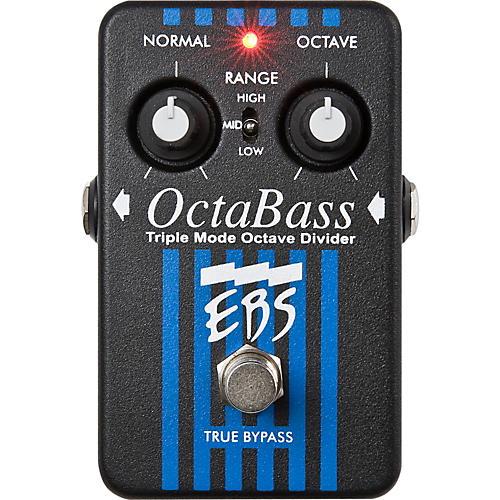 EBS OctaBass Triple Mode Octave Divider Pedal