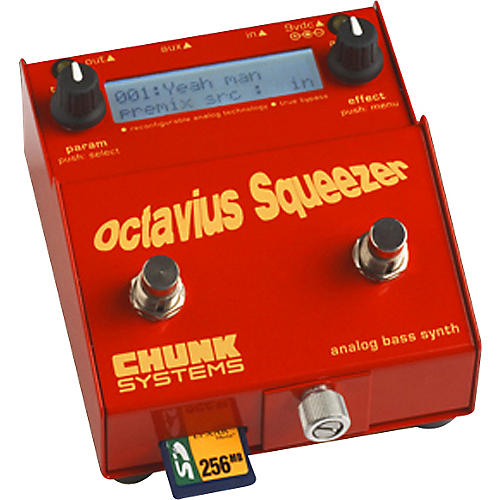 Chunk Systems Octavius Squeezer Analog Bass Synth Pedal