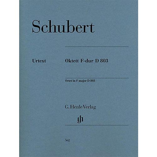 G. Henle Verlag Octet in F Major D 803 Henle Music Folios Series by Franz Schubert-thumbnail