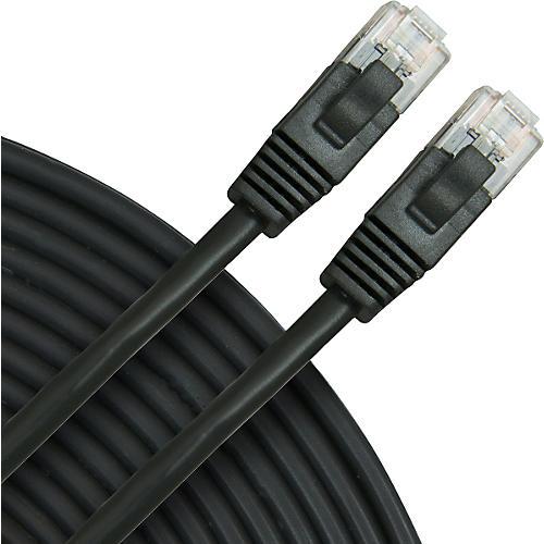 Rapco Horizon Oculus Cat5e Patch Cable Black 7 ft.