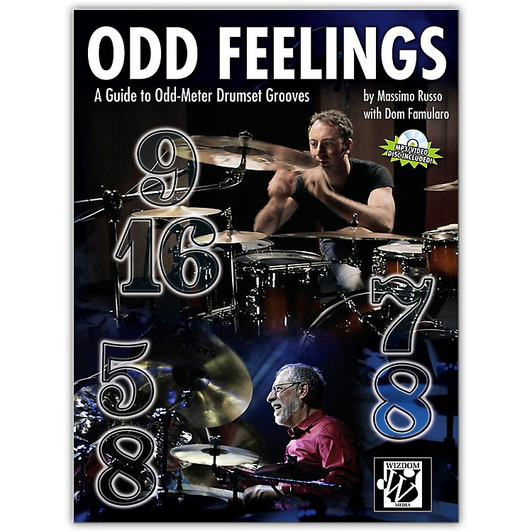 AlfredOdd Feelings Drum Set Book & CD