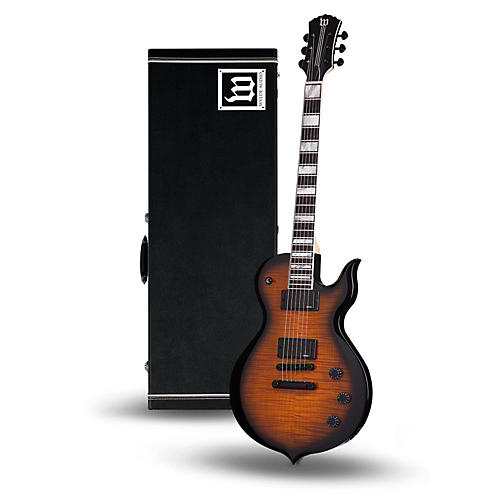 wylde audio odin electric guitar with wylde audio hardshell wood case musician 39 s friend. Black Bedroom Furniture Sets. Home Design Ideas
