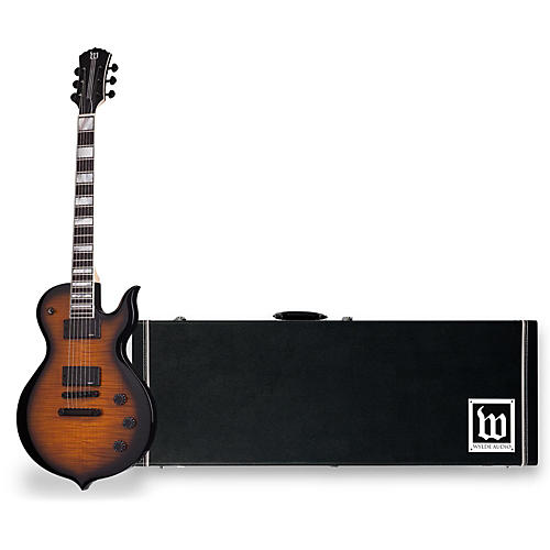 Wylde Audio Odin Electric Guitar with Wylde Audio Hardshell Wood Case-thumbnail