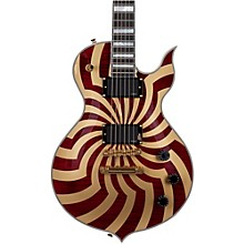 Odin Grail Electric Guitar Crimson Gold Buzz Saw