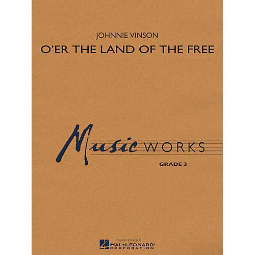 Hal Leonard O'er The Land Of The Free Concert Band Level 3-thumbnail