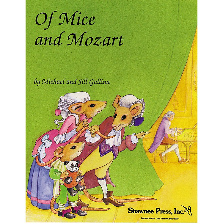 Shawnee Press Of Mice And Mozart Cd