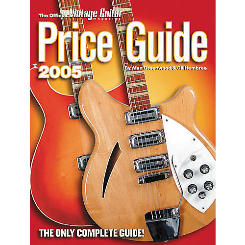 Vintage Official 2005 Vintage Guitar Price Guide-thumbnail