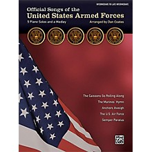 Alfred Official Songs of the United States Armed Forces Intermediate Late Intermediate Piano Solos Lyrics
