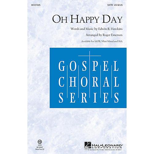 Hal Leonard Oh Happy Day SATB arranged by Roger Emerson