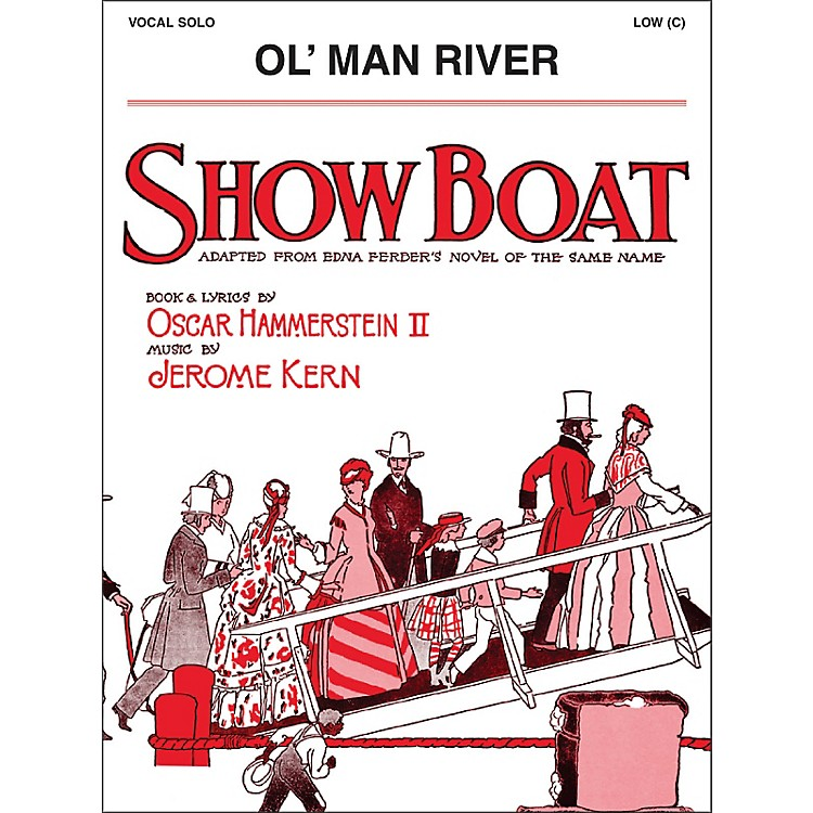 Hal LeonardOl' Man River Low C From Show Boat Vocal Solo