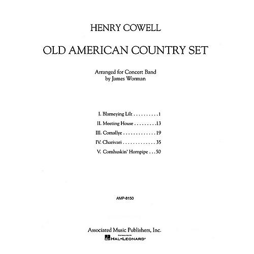 Associated Old American Country Set Concert Band Level 5 Composed by Henry Cowell Arranged by Jim Worman-thumbnail