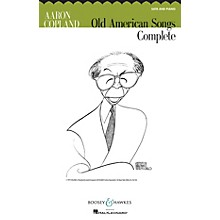 Boosey and Hawkes Old American Songs Complete (SATB and Piano) SATB composed by Aaron Copland