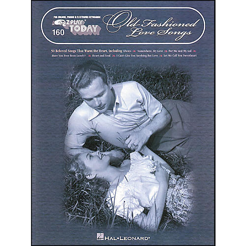 Hal Leonard Old Fashioned Love Songs E-Z Play 294