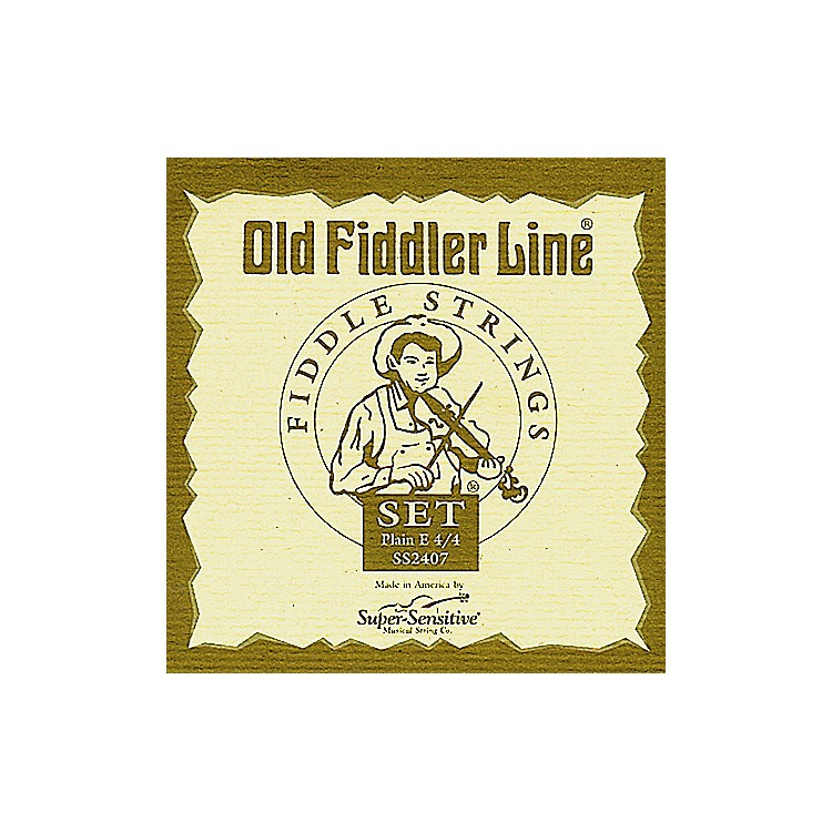 Super SensitiveOld Fiddler Violin StringsA, Medium4/4 Size