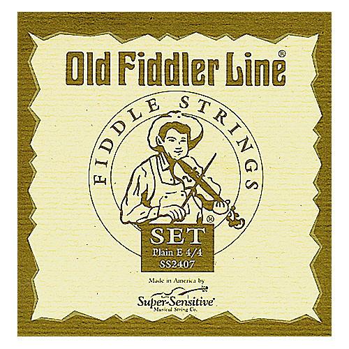 Super Sensitive Old Fiddler Violin Strings D, Medium 4/4 Size