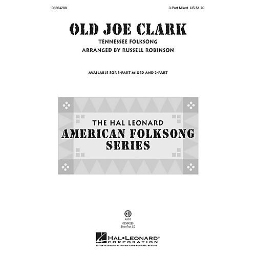 Hal Leonard Old Joe Clark 3-Part Mixed arranged by Russell Robinson-thumbnail