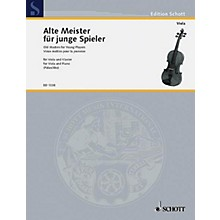 Schott Old Masters for Young Players - Volume 1 (Easy Classical Pieces Viola and Piano) Schott Series
